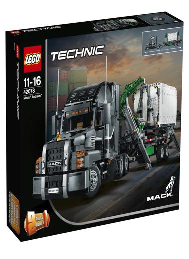 Lego LEGO Technic Mack Anthem Renkli